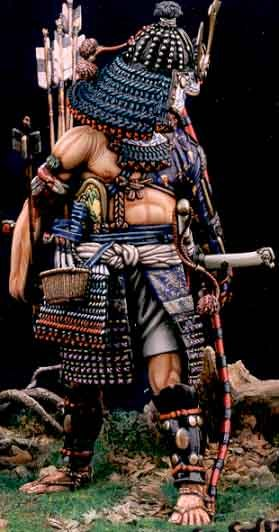Missing Links Article Ray Farrugia Painting The White Models 90mm Samurai