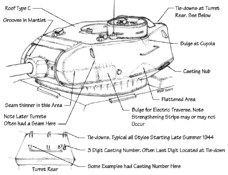 Танк т-34-85 чертеж башни