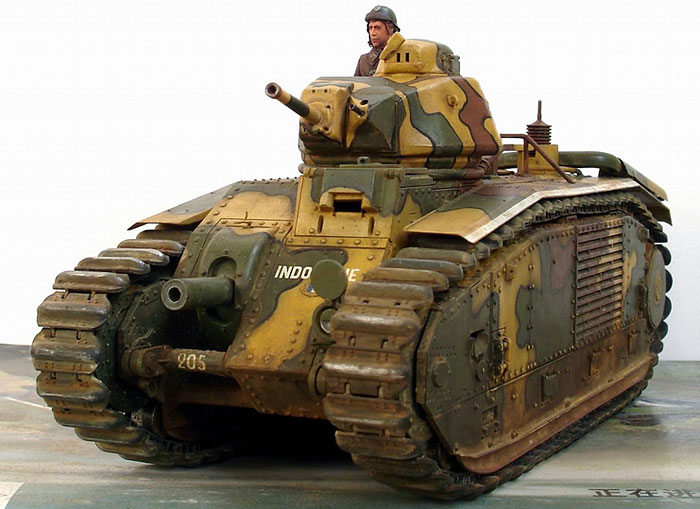 French Char B1 bis