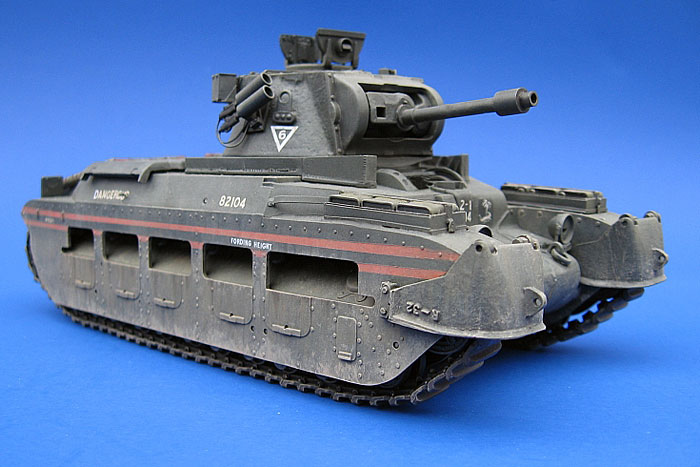 modelling the matilda infantry tank mark bannerman