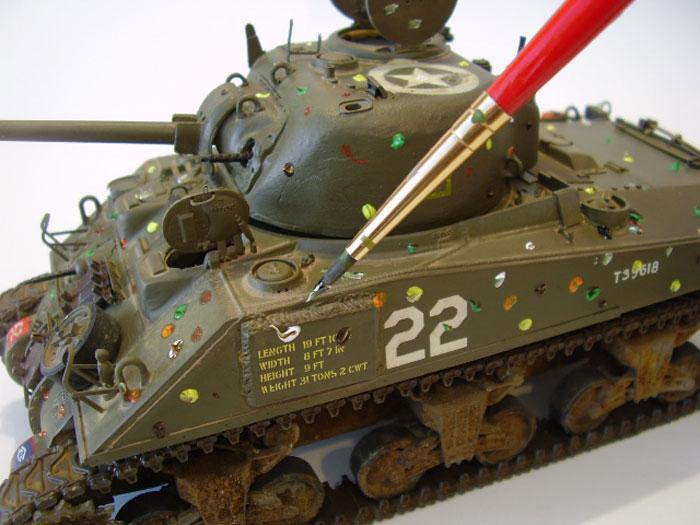 Building a Full Resin Resicast Sherman ARV Mk I Part Two