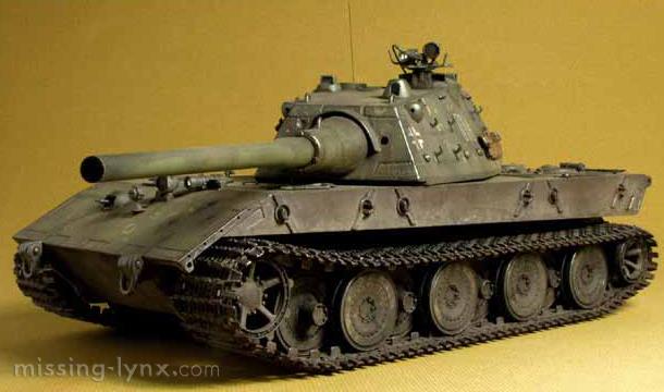 missing-lynx.com - Gallery - E100 Ausf. B, summer 1946
