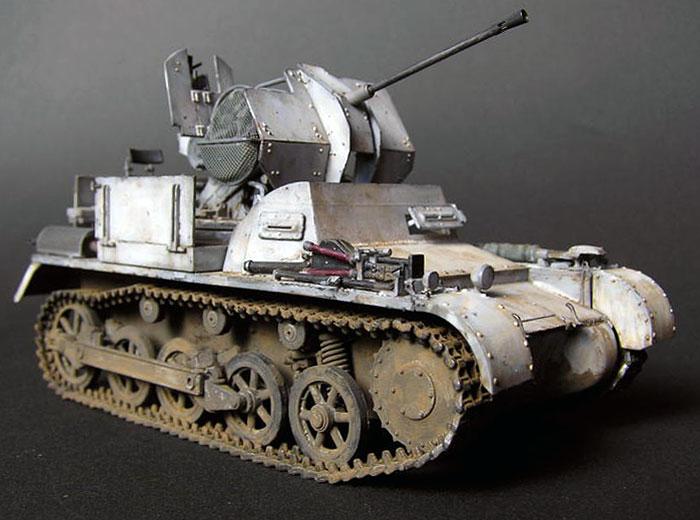FlakPanzer I self propelled anti aircraft gun | World War Photos
