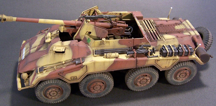 ... kit Sd.Kfz. 234/4 straight from the box