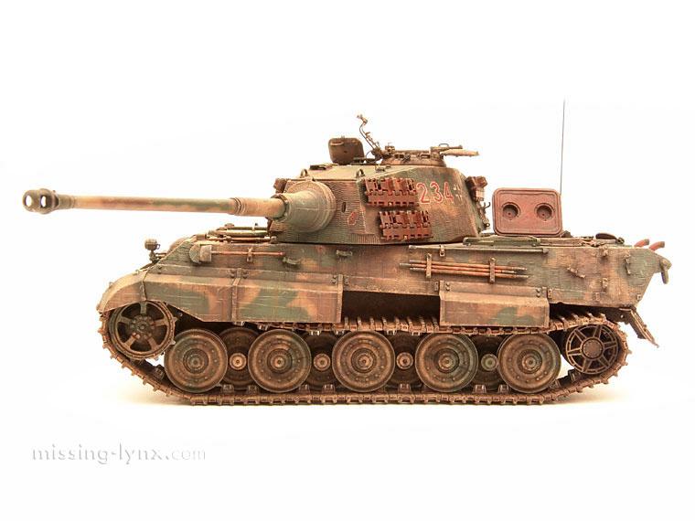King tiger tank - photo#17