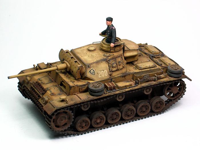 Panzer Iii Ausf L By Huang He Tamiya 1 35