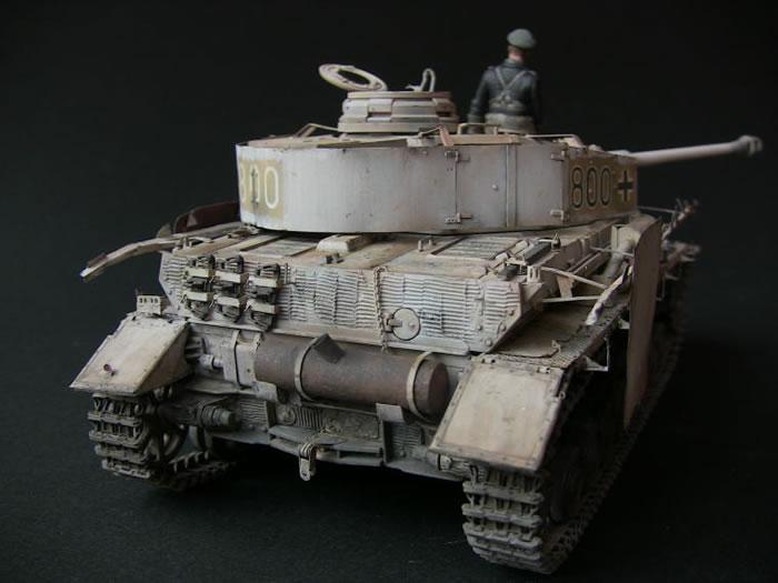 Panzer Iv Ausf H By Maza Takahashi Tamiya 1 35