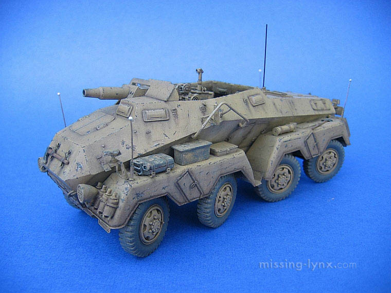 missing-lynx.com - Gallery - Mark Bannerman's SdKfz 233