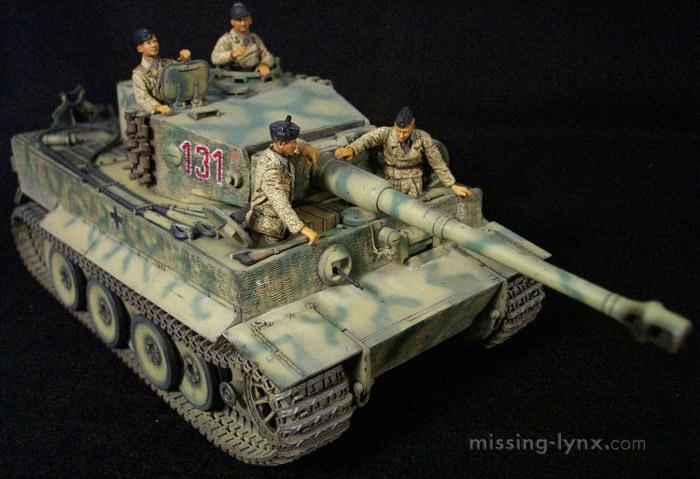 Missing Lynx Com Gallery Tiger I Mid Production