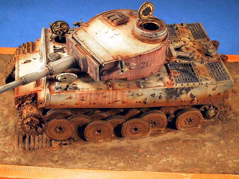 Missing Lynx Com Gallery Tiger 1 Destroyed