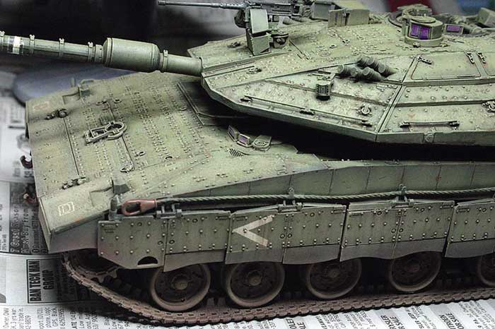 Merkaava Iv Part Two Painting And Weathering By Norman