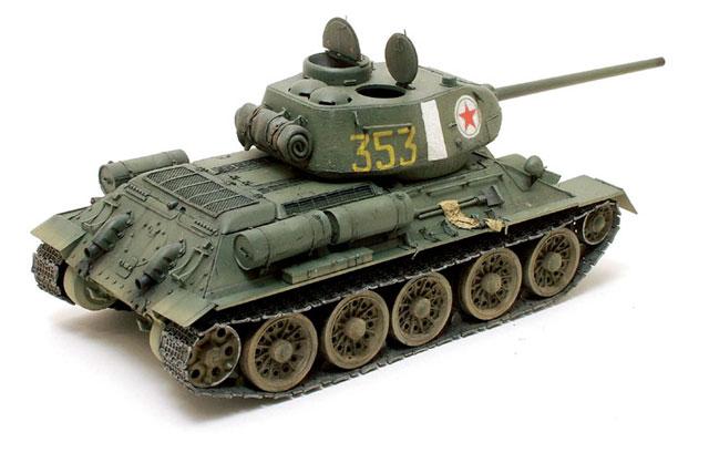 My model represe...T 34 Tank Interior
