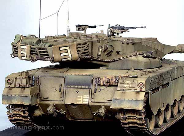 Missing Lynx Com Gallery Merkava Mk I Early