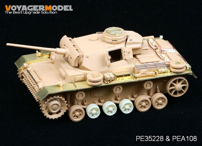 Marder Iii Panzer Iv E 100 Amp Flakpanzer 38t Detail Set