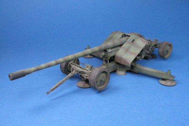 German 50 Mm Anti Tank Gun: Great Wall Hobby 1/35 Scale Krupp 12.8cm Pak 44 Anti-Tank