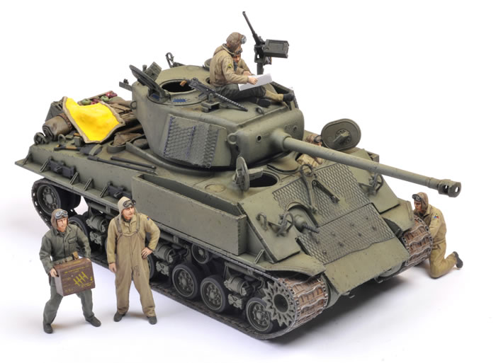"Tamiya Kit No  35346 - U S  Medium Tank M4A3E8 Sherman ""Easy"