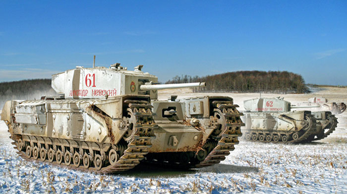 Ussr Churchill Tank By Steve Zaloga Armchair General And Historynet Gt Gt The Best Forums In History
