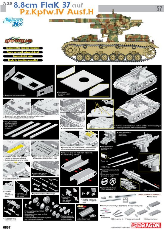 8 8cm Flak 37 Panzer IV Ausf H Review by Cookie Sewell