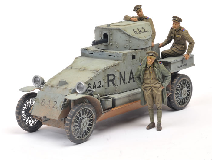 Copper State Models 1/35 Lanchester Armoured Car By Brett
