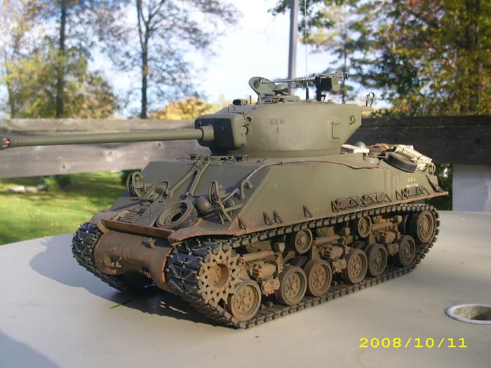 Tamiya M4a3e8 Sherman M4a3e8 Sherman by Dave Goddard