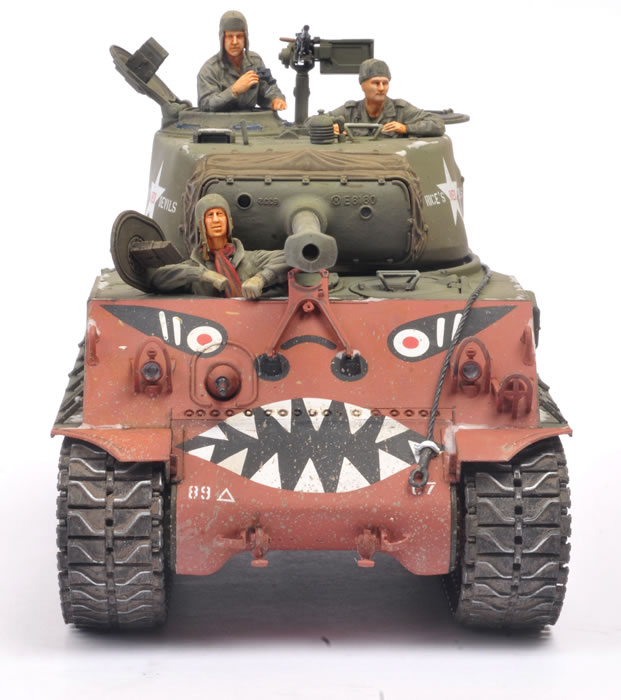 Tamiya Kit No  35359 - U S  Medium Tank M4A3E8 Sherman
