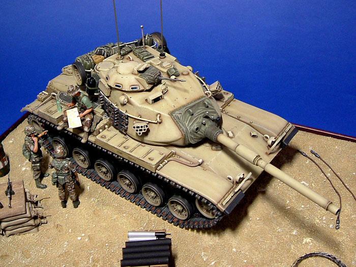 M60a3 By Lucio Merlo Tamiya 1 35
