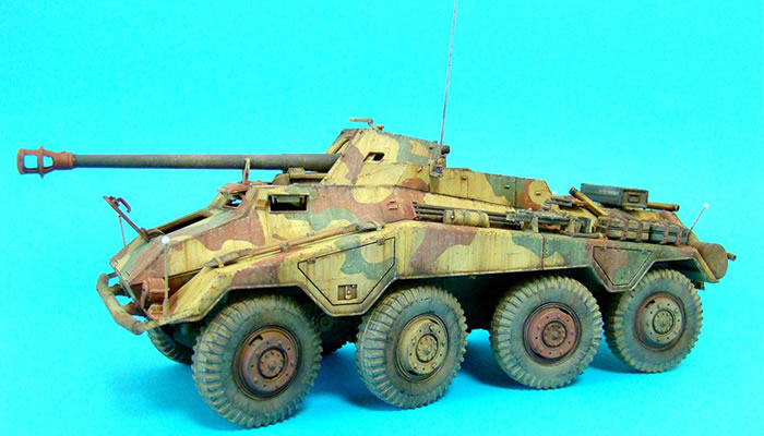 Sd.Kfz.234/4 by Chulho Yoo (Dragon 1/35)