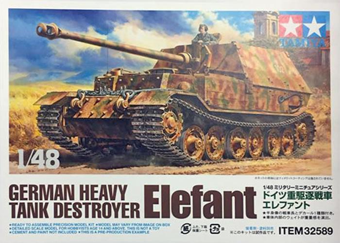 Tamiya Kit No  32589 - German Heavy Tank Destroyer Elefant