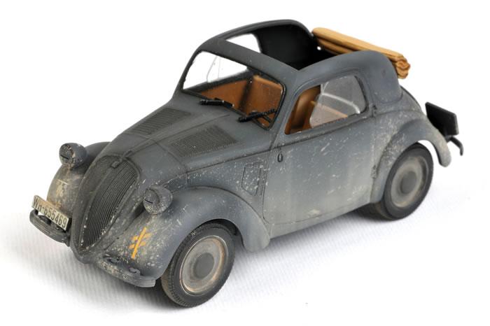Simca S5 Dienstwagen 1 Tamiya 1:35 WWII Dt