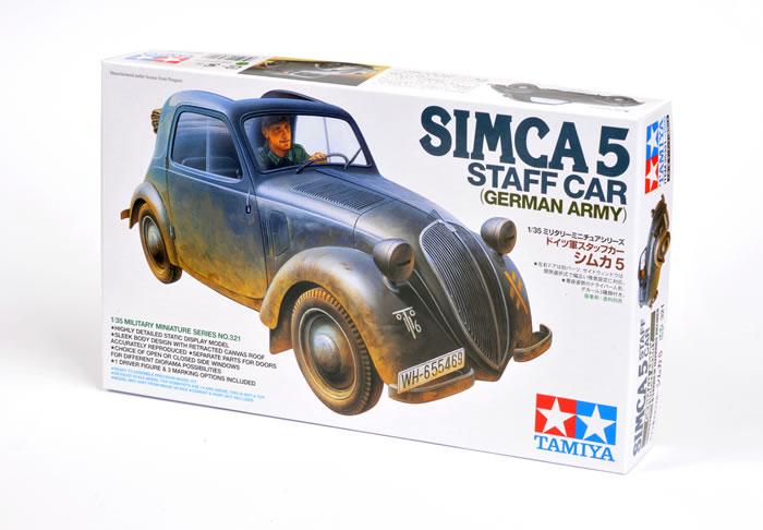 Staff Car Simca