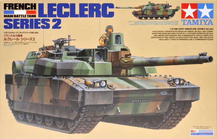 f54aad18b650 Tamiya Kit No. 35362 - French Main Battle Tank Leclerc Series 2 ...