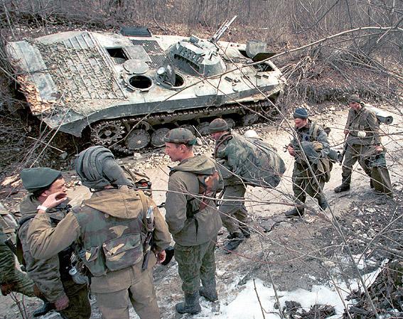 Insurgencia en Chakia  Grozny-80