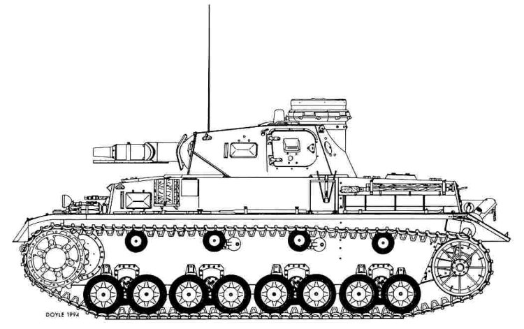Panzer Iii Drawing in Addition Every Panzer in a