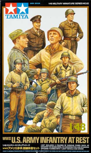 WWII US Army Infantry at Rest Review by Brett Green ...