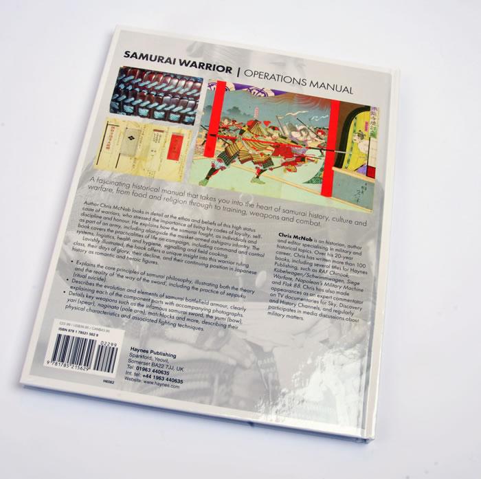 Samurai Warrior Operations Manual - Haynes Publishing Book