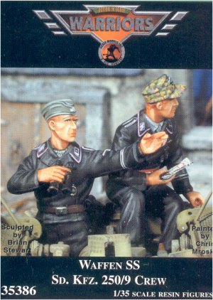 Missing Links Warriors 35386 Waffen SS SdKfz 2509 Crew
