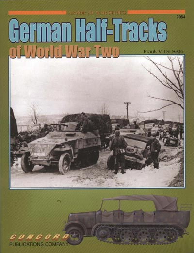 missing-lynx com - Reviews - German Half-Tracks of World War Two