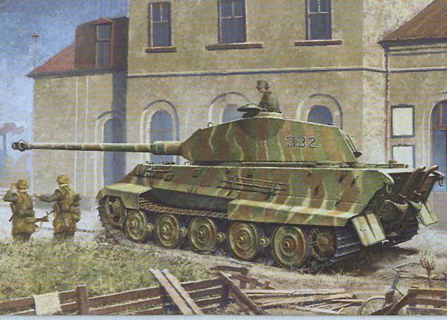 Обои танк, тяжелый, Королевский тигр 451093 / Раздел: Оружие / HallPic.ru.