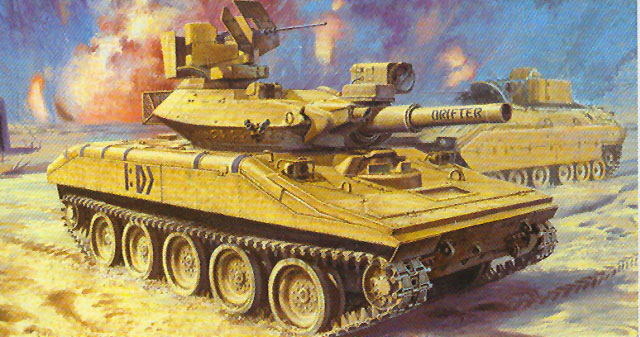 M551 Sheridan Quot Gulf War Quot Review By Cookie Sewell Academy