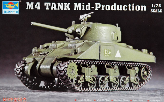 M4 Sherman Mid Production Review By Glen Porter Trumpeter